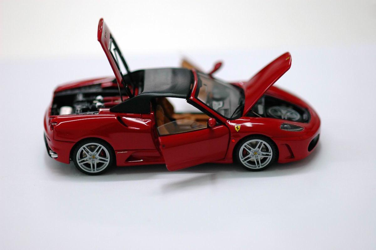 ferrari f430 spider 1 43 mr collection models