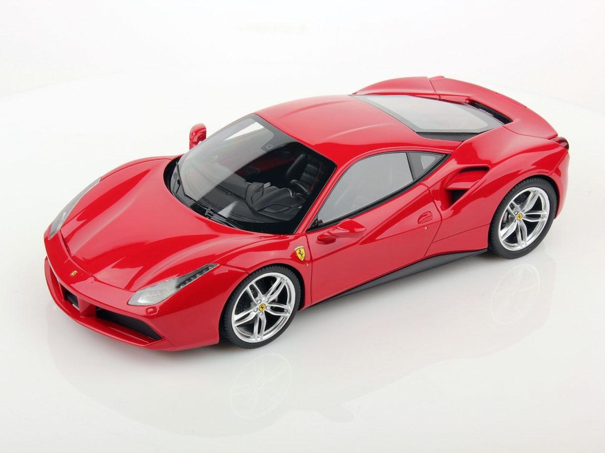 Ferrari 488 Gtb Geneva Motorshow 2015 1 18 Mr Collection