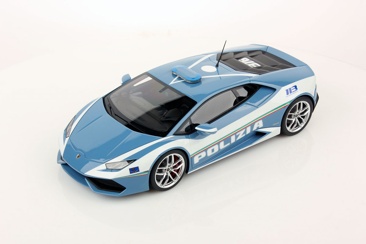 Lamborghini Hurac 225 N Lp 610 4 Polizia 1 18 Mr Collection