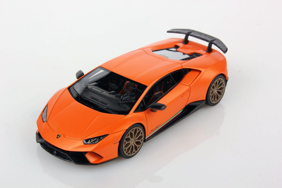 Huracan Performante At Geneva Motor Show The Model In 1