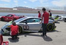 Egidio Reali Las Vegas Motor Speedway, getting the Driving Licence International C.