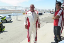 Egidio Reali Las Vegas Motor Speedway, getting the Driving Licence International C.