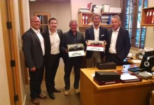 Egidio Reali With Winkelmann, Reggiani, Perini, Romanowsky Serata Italiana, Monterey 2013.