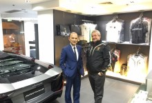 Egidio Reali Proudly I had the honor to meet Jimmy Choo, Lamborghini dealer in Hong Kong