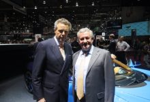 Egidio Reali with Wolfgang Dürheimer, CEO of Bugatti and Bentley @geneva 2016.