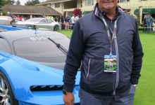 Egidio Reali With Bugatti Vision GT in Pebble Beach 2016.