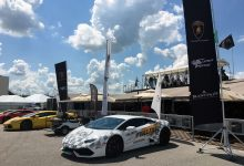 Egidio Reali The Safety Car of Blanpain Lamborghini Super Trofeo, sponsored by MR Group.