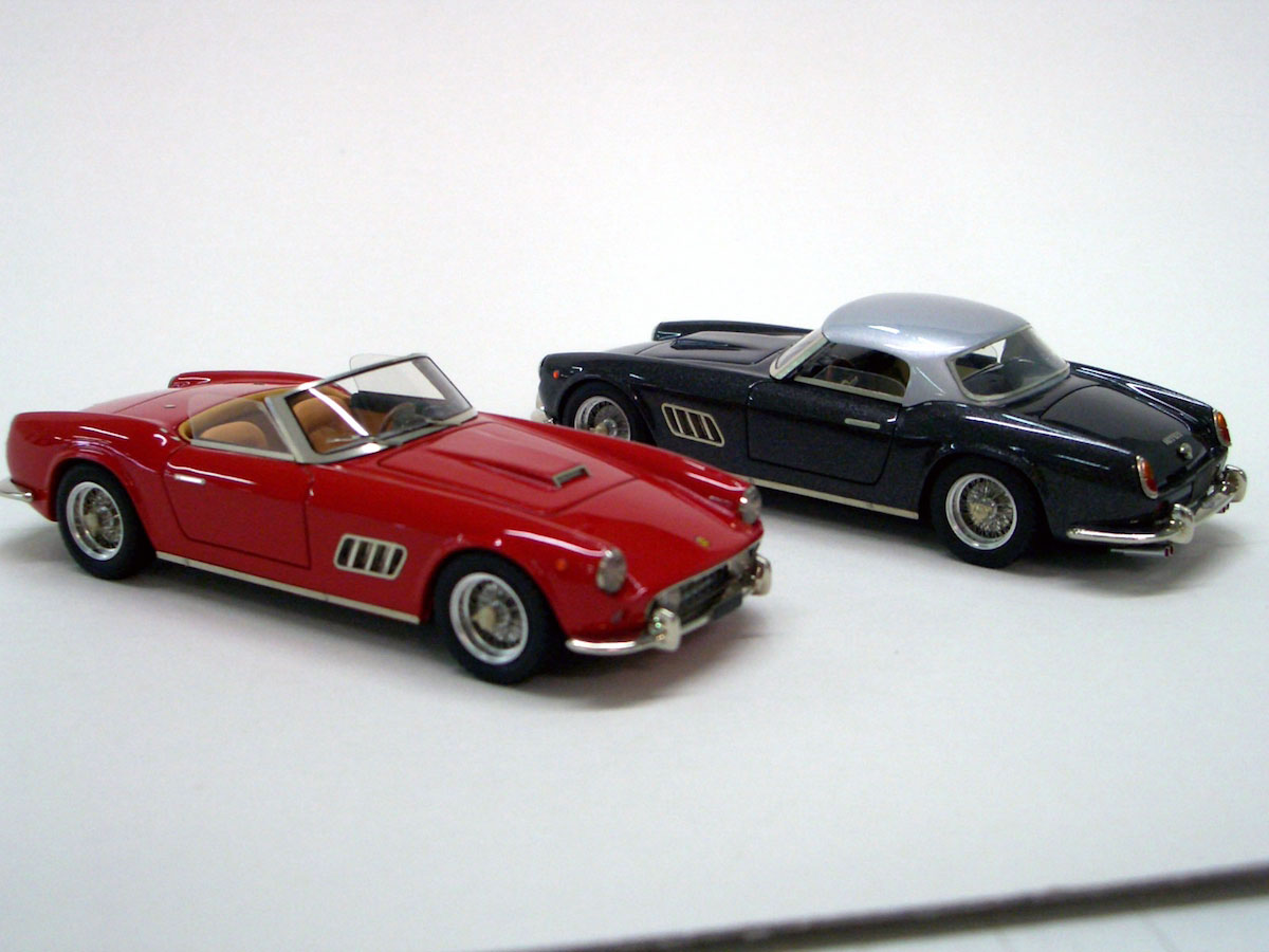 Ferrari 250 GT California Spider Hard Top Straight Light 1
