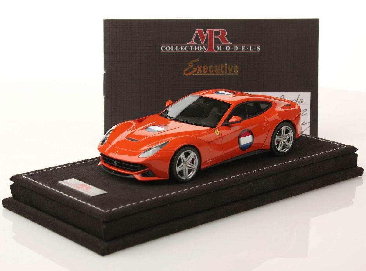 Ferrari F12 Berlinetta Netherland Flag 1 43 Mr Collection Models