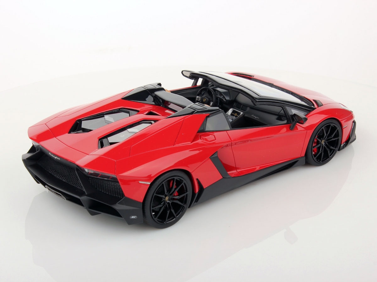 lamborghini aventador lp 720 4 roadster 50th anniversary 1 18 mr collection models. Black Bedroom Furniture Sets. Home Design Ideas