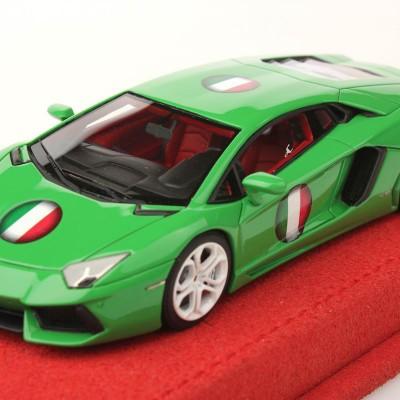 Lamborghini Aventador Lp700 4 Italy Flag 1 43 Mr Collection Models