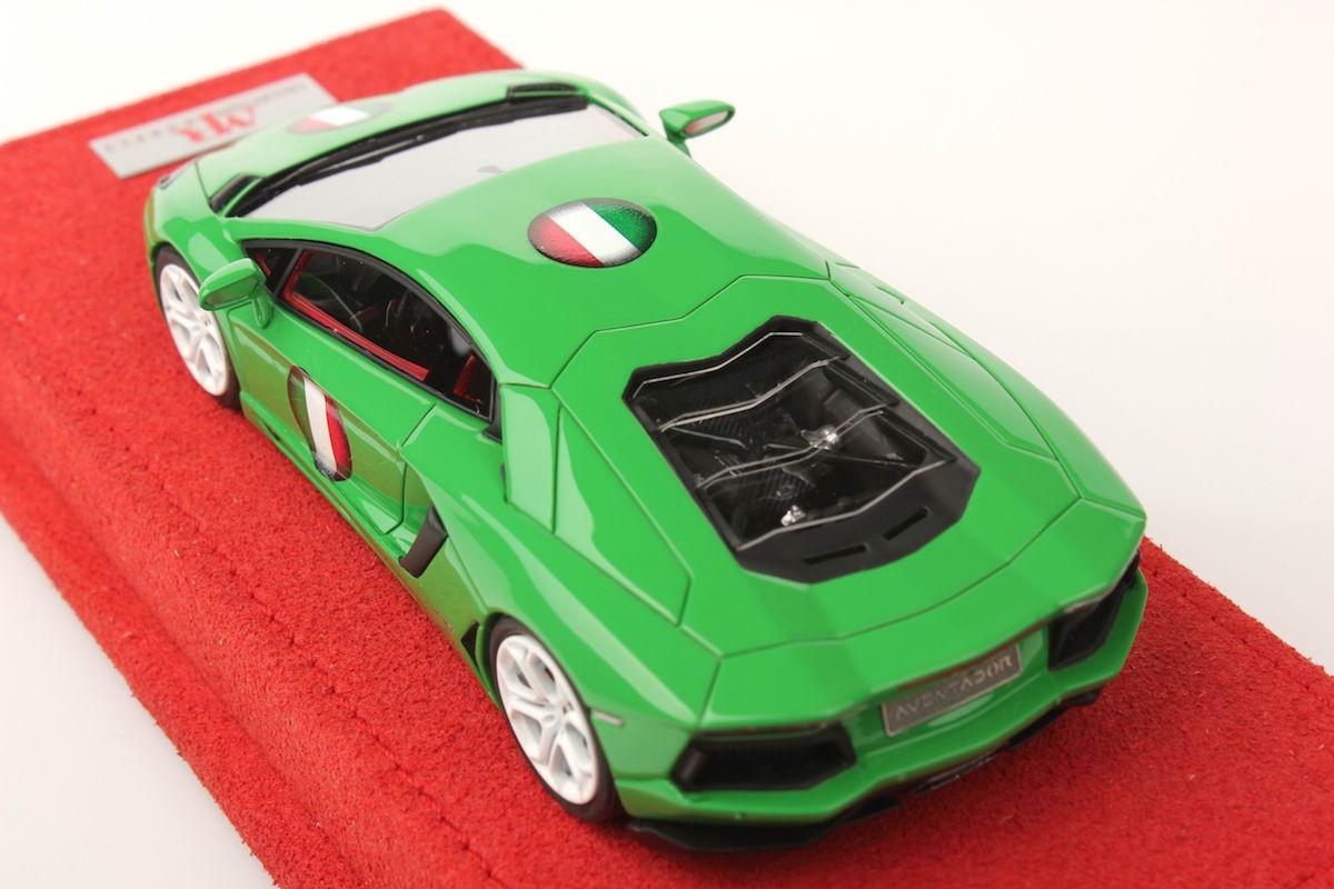 Lamborghini Aventador Lp700 4 Italy Flag 1 43 Mr