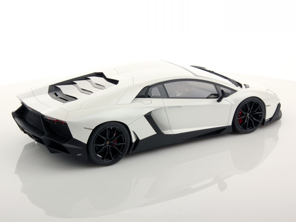 Lamborghini Aventador Lp720 4 50th Anniversary 1 18 Mr Collection