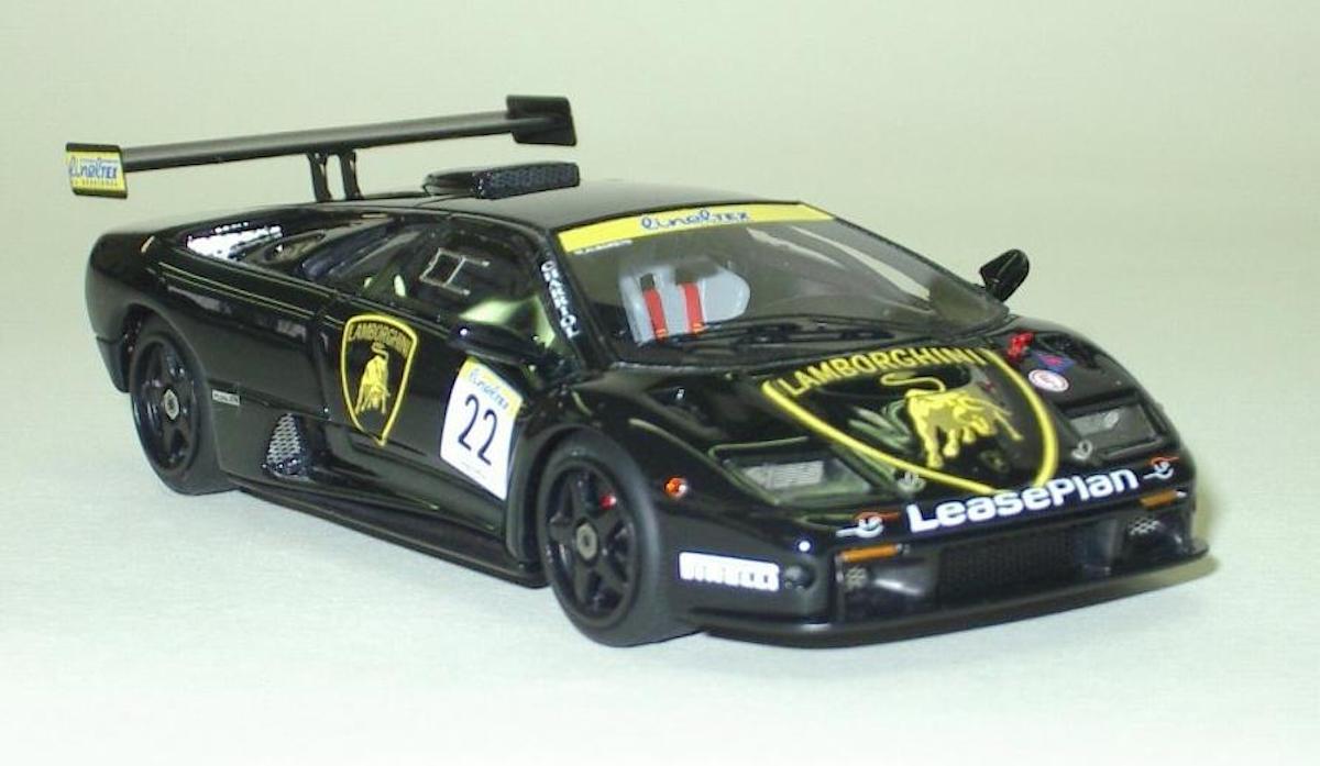 Lamborghini Diablo Gtr 2000 Monza M Alboreto 1 43 Mr Collection Models