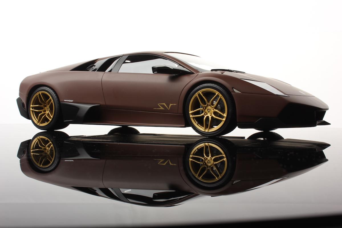 Lamborghini Murci 232 Lago Lp670 4 Sv Fixed Wing 1 18 Mr Collection Models