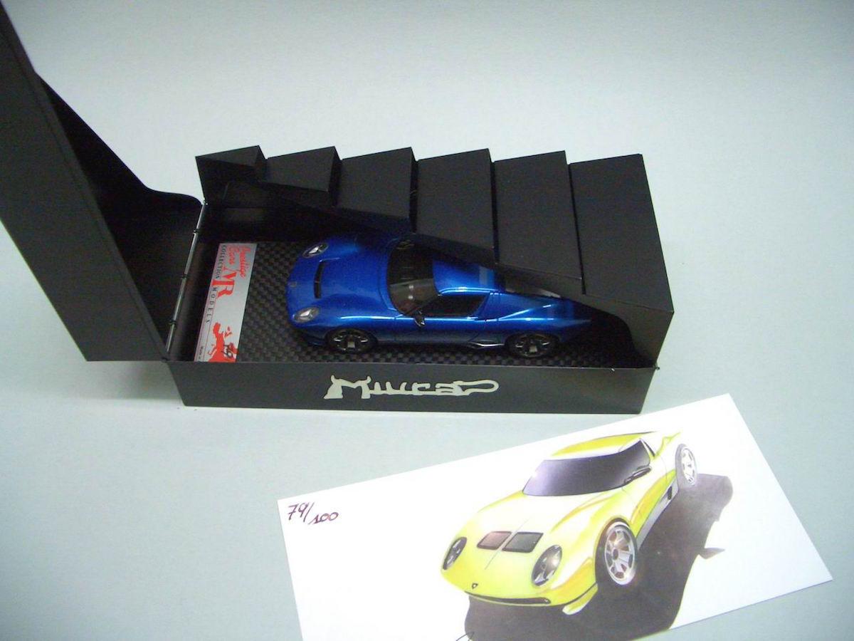 Lamborghini Miura Concept 2006 1 43 Mr Collection Models