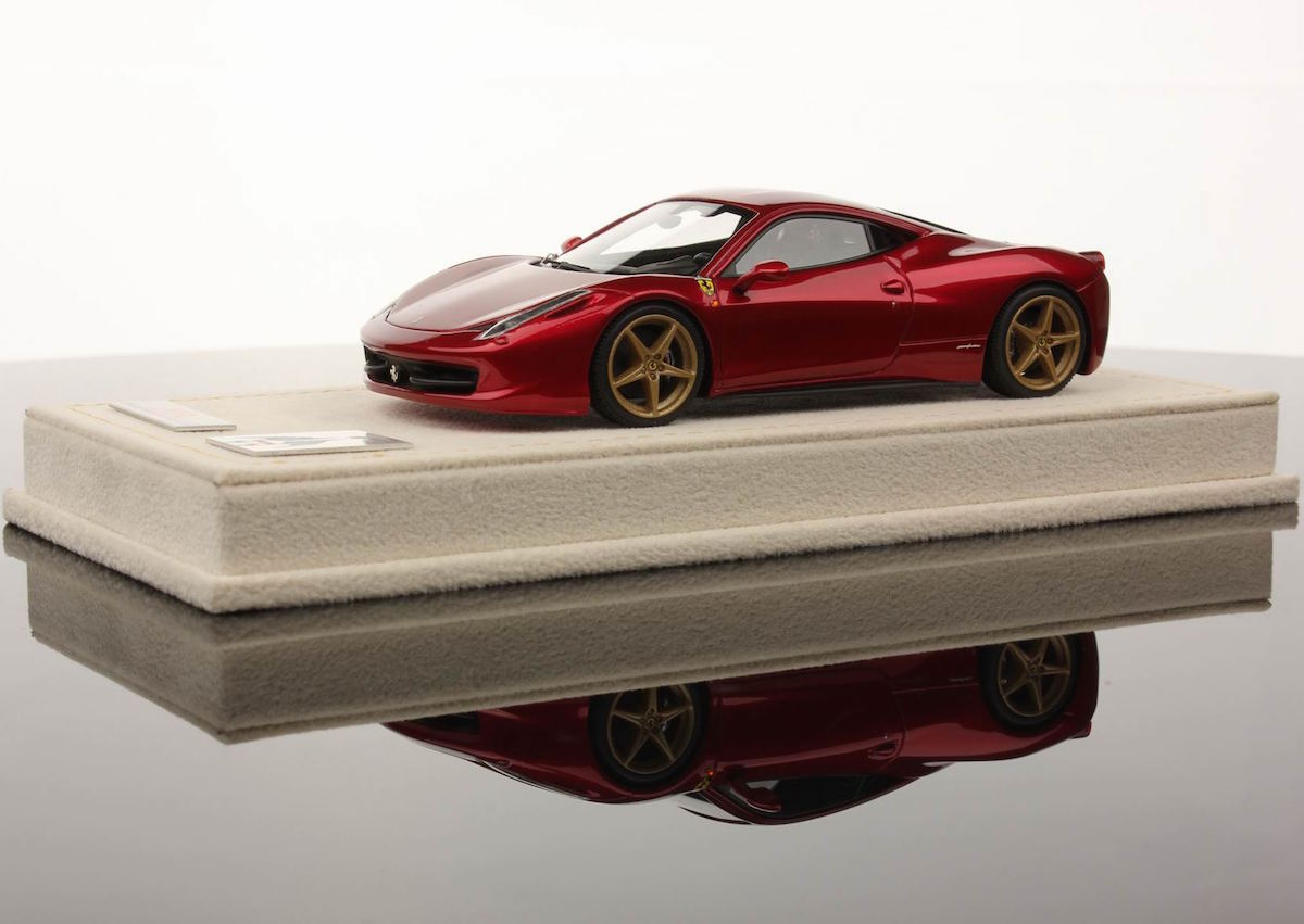 Ferrari 458 Italia 25th Mr Collection Anniversary 1 18 Mr Collection Models