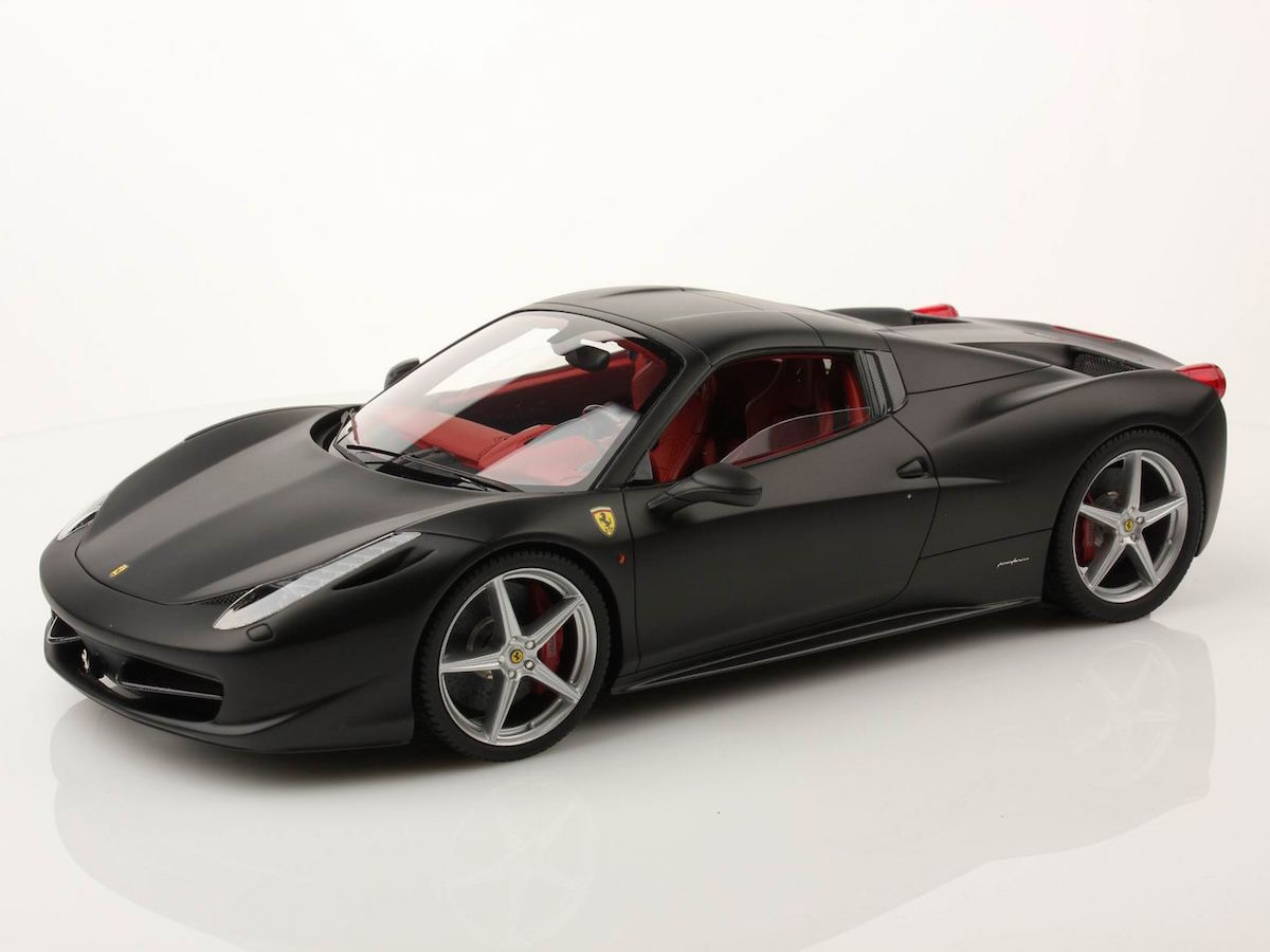 Ferrari ferrari spider 458 : Ferrari 458 Spider Hard Top 1:18 | MR Collection Models