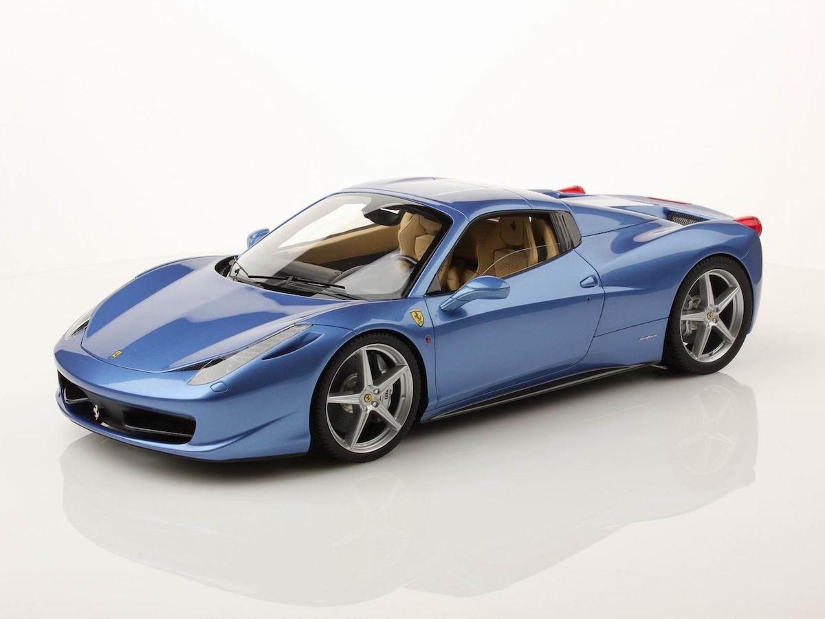 Ferrari 458 Spider Hard Top 1 18 Mr Collection Models