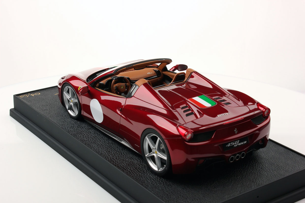 Ferrari 458 Spider Hard Top 1:18 | MR Collection Models