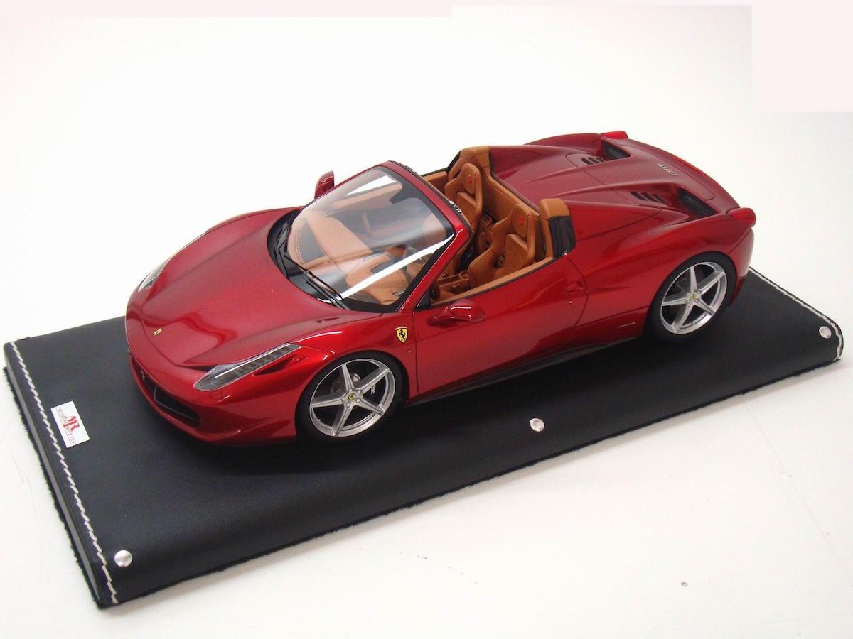 ferrari 458 spider 1 18 mr collection models. Black Bedroom Furniture Sets. Home Design Ideas