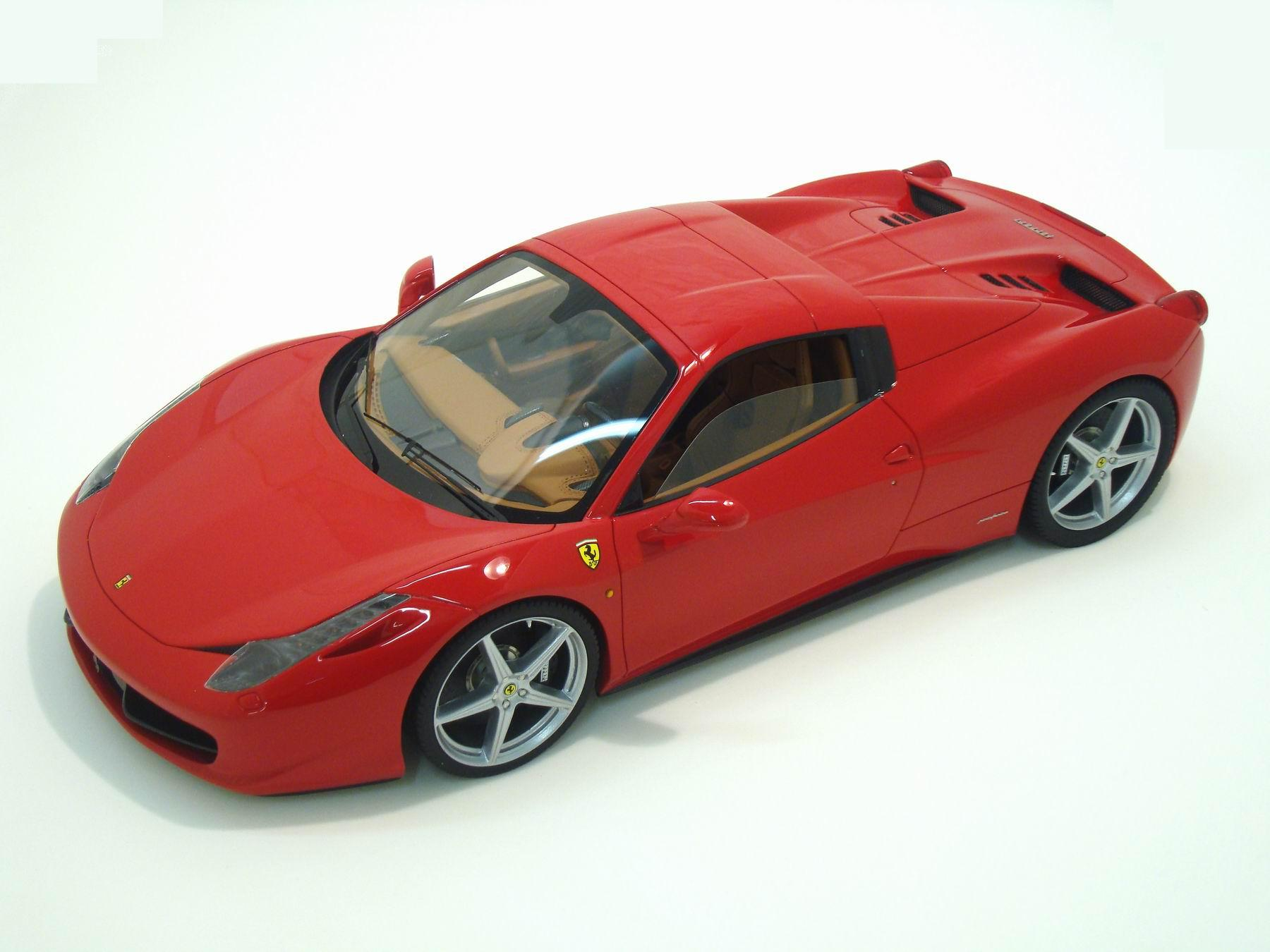 ferrari 458 spider hard top 1 18 mr collection models. Black Bedroom Furniture Sets. Home Design Ideas