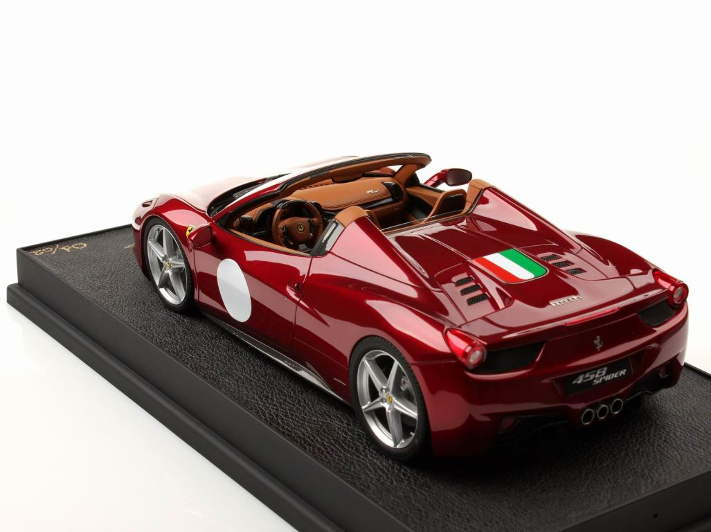 ferrari 458 spider 1 18 mr collection models. Black Bedroom Furniture Sets. Home Design Ideas