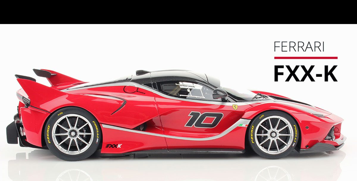 Ferrari Fxxk 2 Mr Collection Models