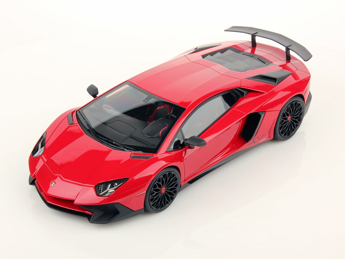 Lamborghini Aventador Lp 750 4 Superveloce 1 18 Mr