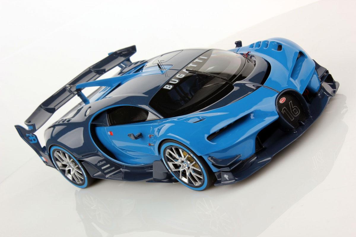 Bugatti Vision GT 1:18 | MR Collection Models on mitsubishi gt vision, subaru viziv gt vision, renault alpine gt vision, bmw gt vision,