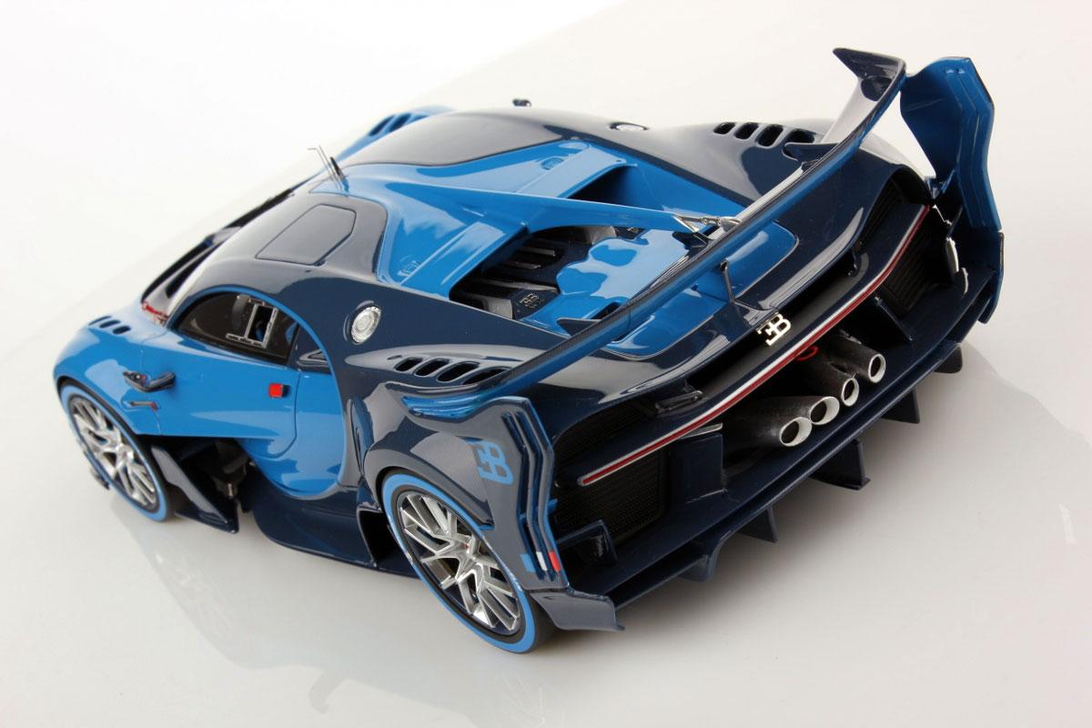 Bugatti Vision GT 1:18 | MR Collection Models on mitsubishi gt vision, bmw gt vision, subaru viziv gt vision, renault alpine gt vision,