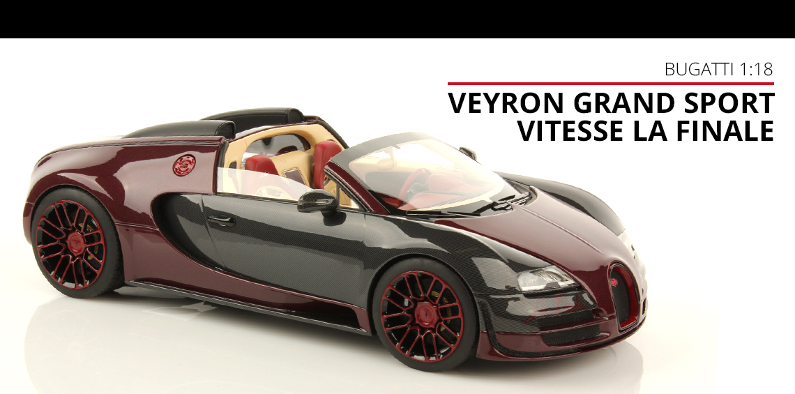 bugatti veyron la finale mr collection models. Black Bedroom Furniture Sets. Home Design Ideas