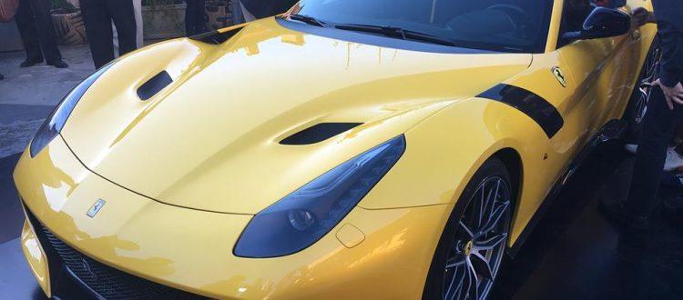 Ferrari f12 tdf showcase milan