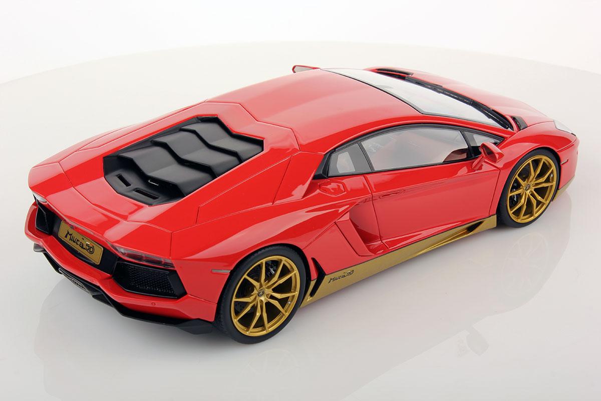Lamborghini Aventador Lp 700 4 Miura Homage 1 18 Mr