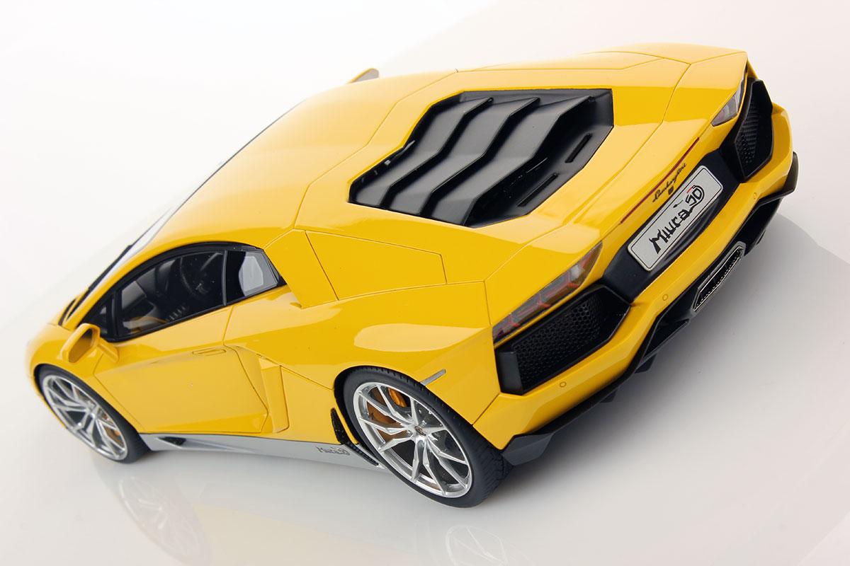 Lamborghini Aventador Lp 700 4 Miura Homage 1 18 Mr Collection Models