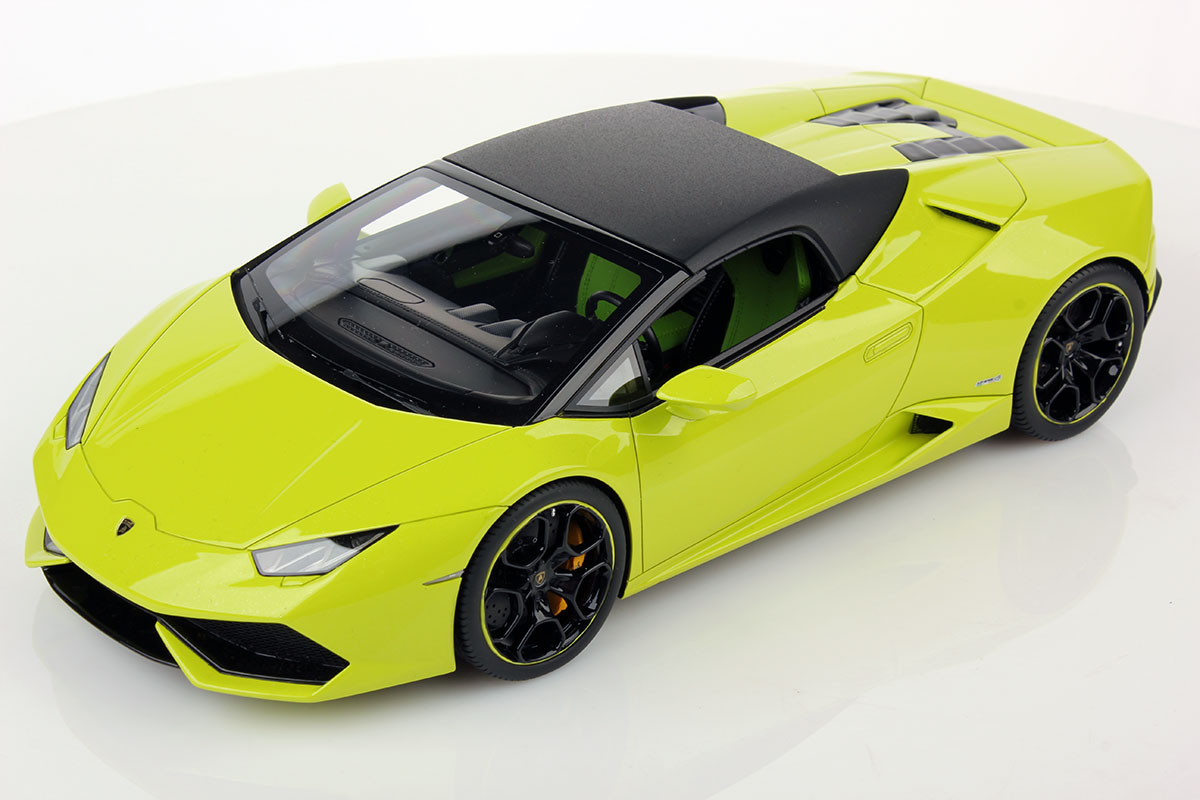 Lamborghini Huracan Lp 610 4 Spyder Soft Top 1 18 Mr