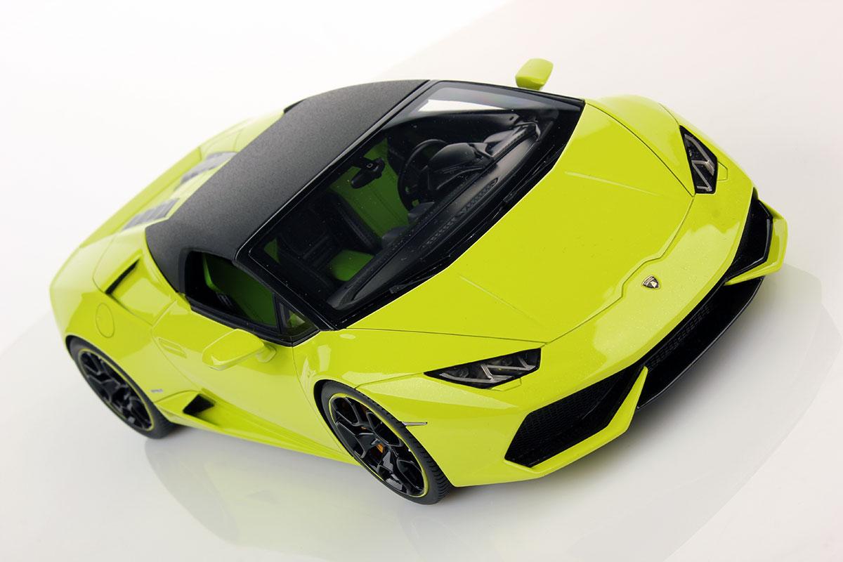 Lamborghini Huracan Lp 610 4 Spyder Soft Top 1 18 Mr Collection Models