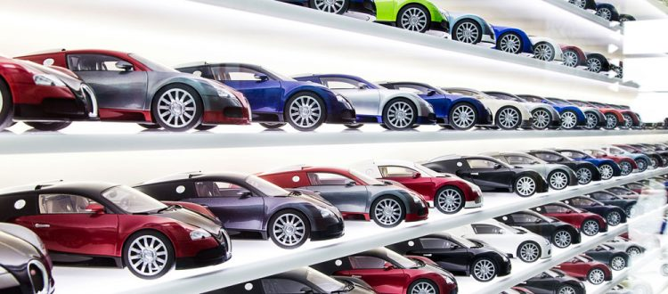 all the veyron on «bugatti wall» @molsheim | mr collection models