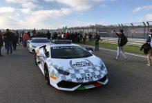 Egidio Reali Lamborghini Super Trofeo 2016 Valencia Safety Car