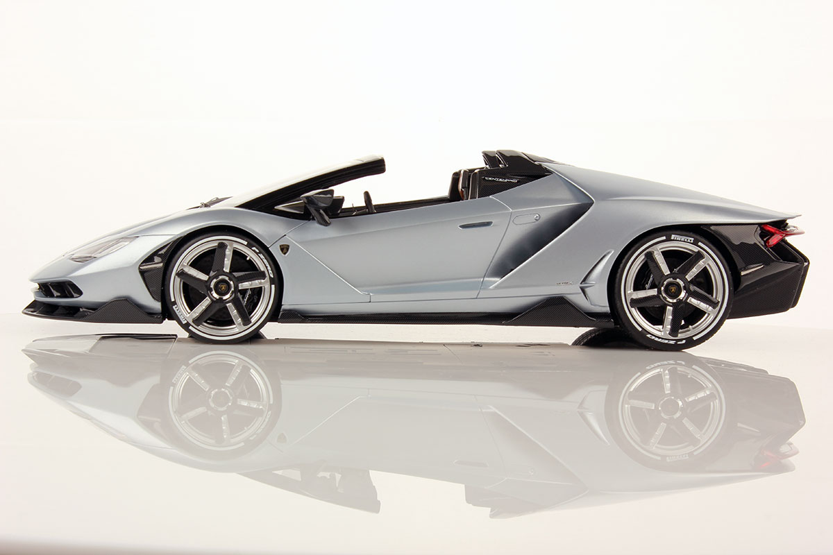Bugatti Prize >> FIRST PICTURES OF LAMBORGHINI CENTENARIO ROADSTER 1:18 | MR Collection Models