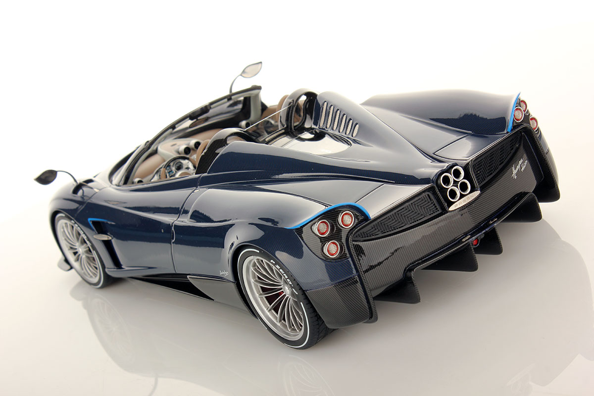 Pagani Huraya >> Pagani Huayra Roadster 1:18 | MR Collection Models