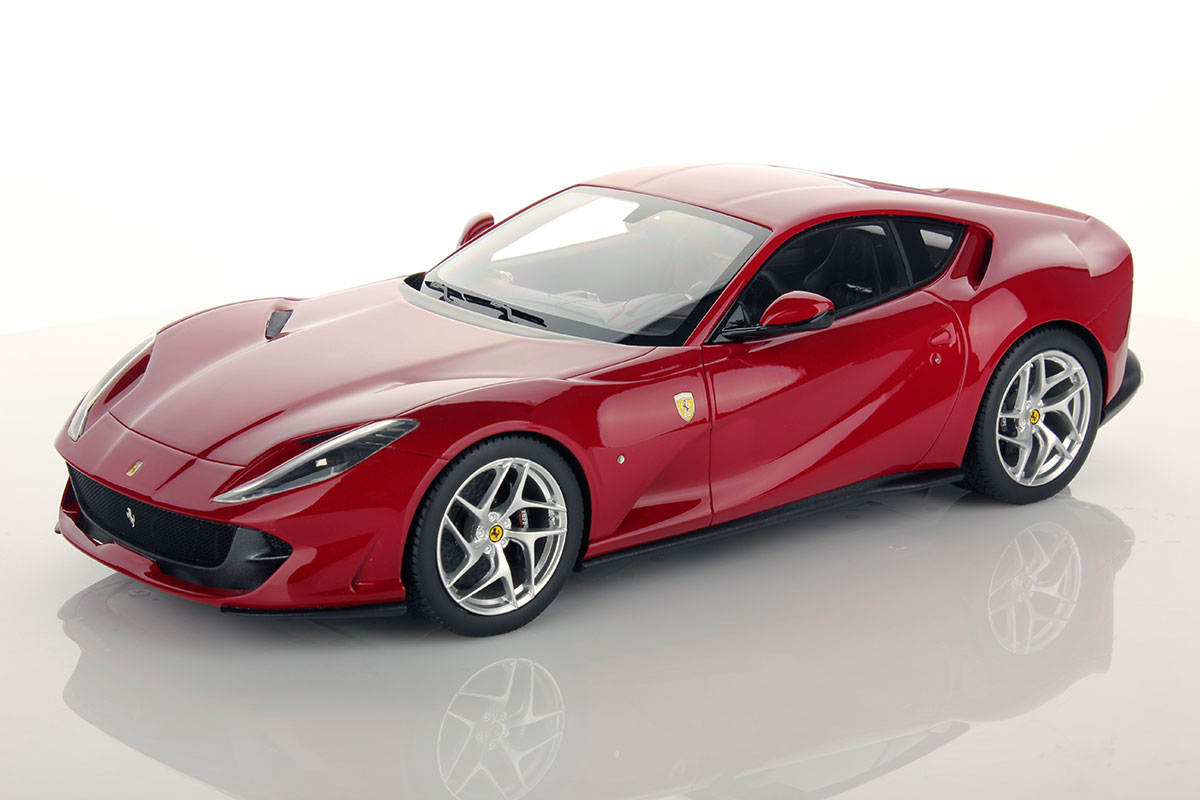 ferrari 812 superfast 1 18 mr collection models. Black Bedroom Furniture Sets. Home Design Ideas