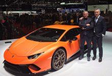 Egidio Reali Geneva Motor Show Lamborghini Huracan Performante Maurizio Reggiani