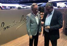 Egidio Reali Geneva Motor Show Pagani Horacio Huayra