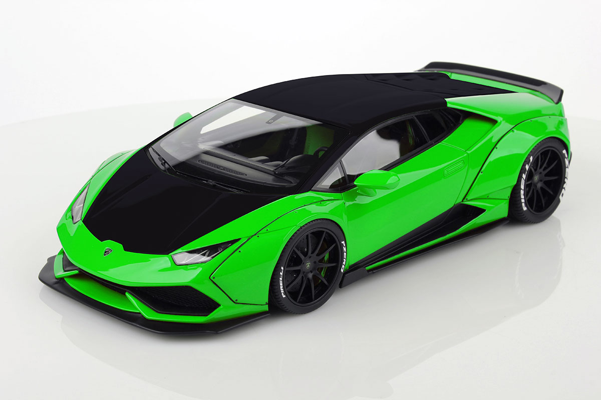 mr collection lamborghini huracan aftermarket lb bicolor verde mantis green nero nemesis mr. Black Bedroom Furniture Sets. Home Design Ideas