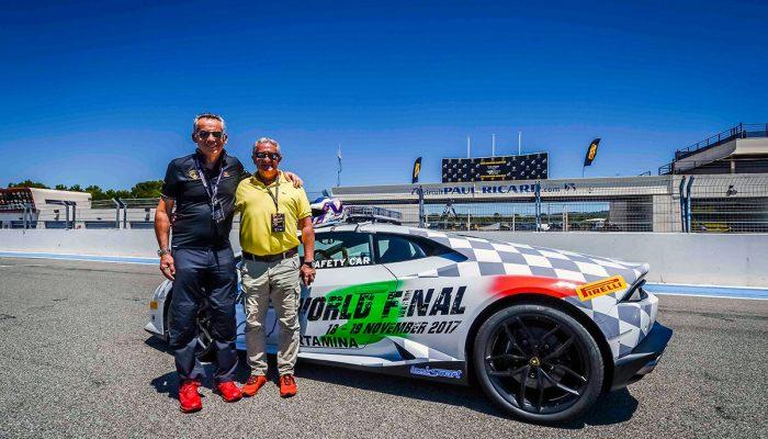 Egidio Reali Paul Ricard Lamborghini Supertrofeo Maurizio Reggiani