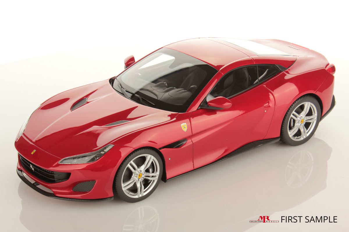 ferrari portofino 1 18 mr collection models. Black Bedroom Furniture Sets. Home Design Ideas