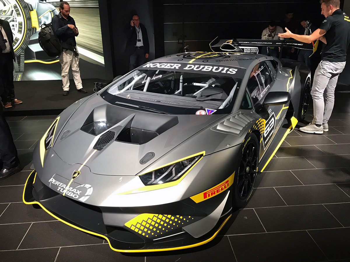 Mr Group At The Official Launch Of Lamborghini Huracan Super