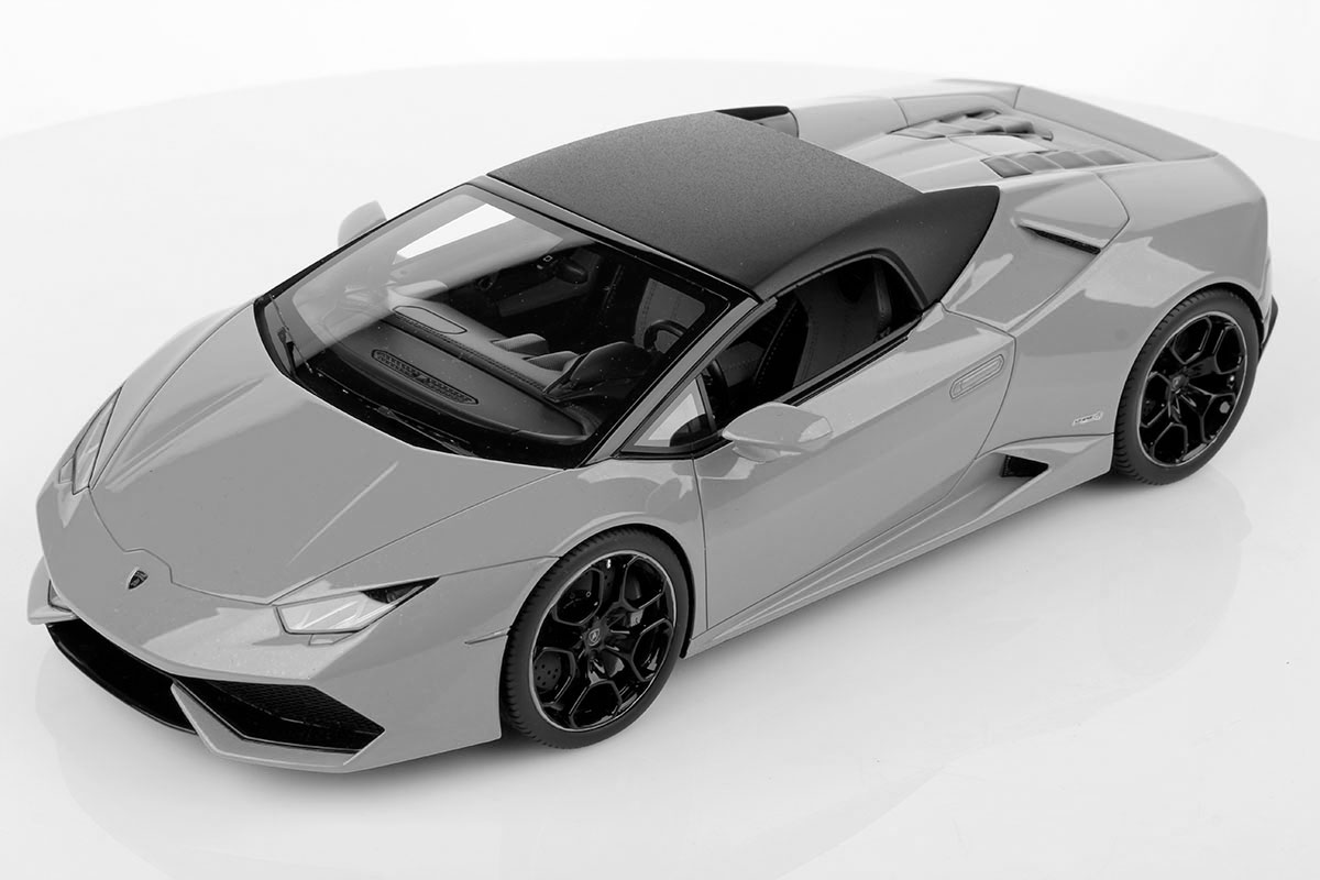 Lamborghini Huracan Spyder Soft Top 1:18