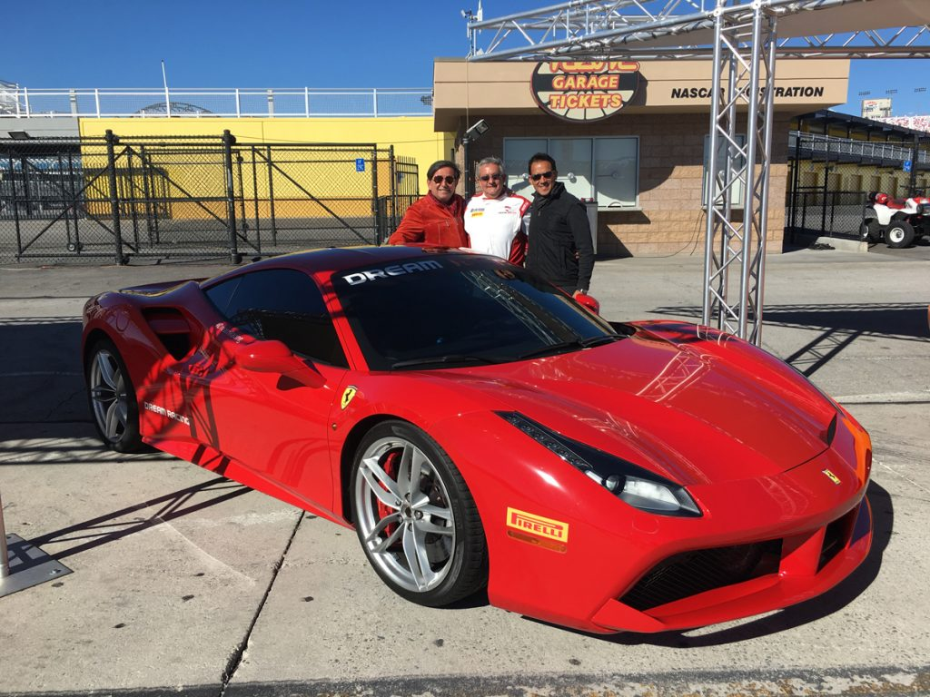 Dream racing mr collection models for Las vegas motor speedway driving experience
